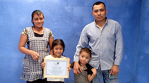 The Perez Family, San Miguel Escobar, Guatemala, Home for a Home