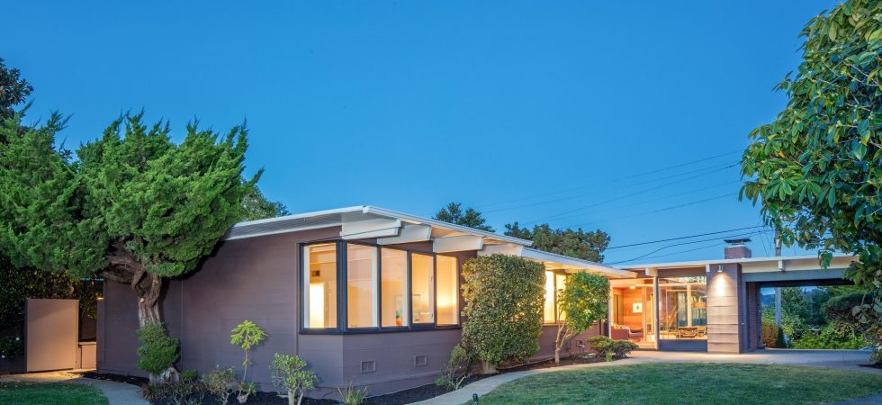 Iconic Design Mid-Century with Sweeping Bay Views
