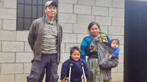 Three Homes Funded and Built in Balanyá, Guatemala