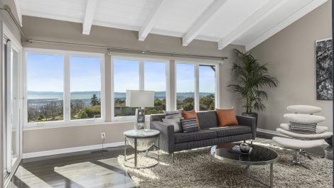 CHIC OAKLAND HILLS CONTEMPORARY | SWEEPING BAY VIEWS!